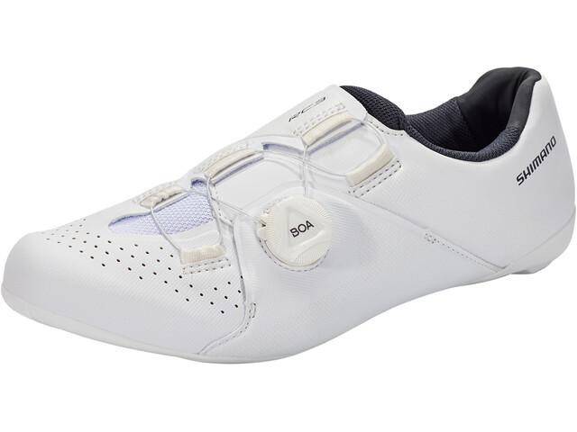 Shimano SH-RC3 Bike Shoes Wide Men, blanco